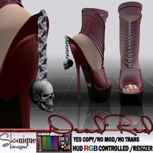 16 - Dead Red Heels