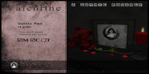 39 - ._S.M_. Valentine - Gothic Red